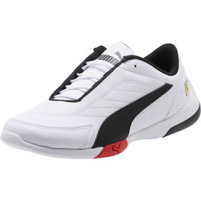 Thumbnail 1 of Scuderia Ferrari Kart Cat III Shoes JR, Puma White-Puma Black, medium