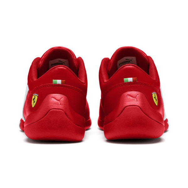 Scuderia Ferrari Kart Cat III Shoes JR, Rosso Corsa-Wht-Rosso Corsa, large