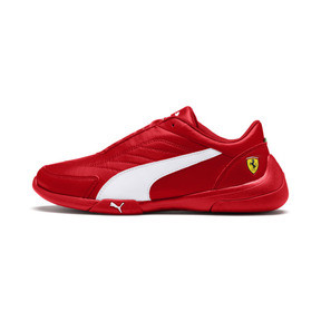 Thumbnail 1 of Scuderia Ferrari Kart Cat III Shoes JR, Rosso Corsa-Wht-Rosso Corsa, medium