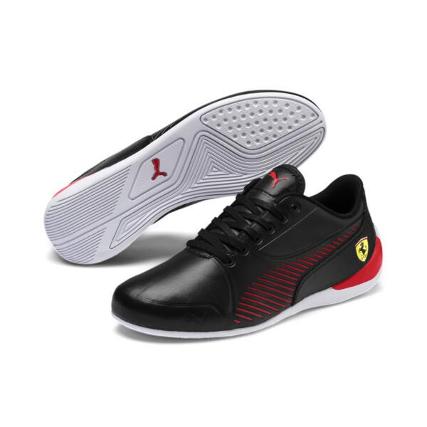 Zapatillas de niño Drift Cat 7S Ultra Youth Ferrari, Puma Black-Rosso Corsa, grande