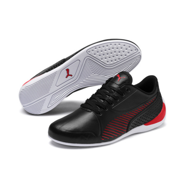 06377b02ec5 Scuderia Ferrari Drift Cat 7S Ultra Shoes JR, Puma Black-Rosso Corsa, large