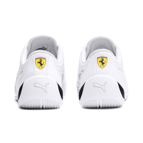 Zapatillas de niño Drift Cat 7S Ultra Youth Ferrari, Puma blanco - Puma negro, grande