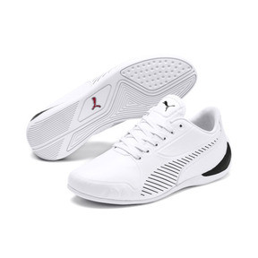 Thumbnail 2 of Scuderia Ferrari Drift Cat 7S Ultra Shoes JR, Puma White-Puma Black, medium