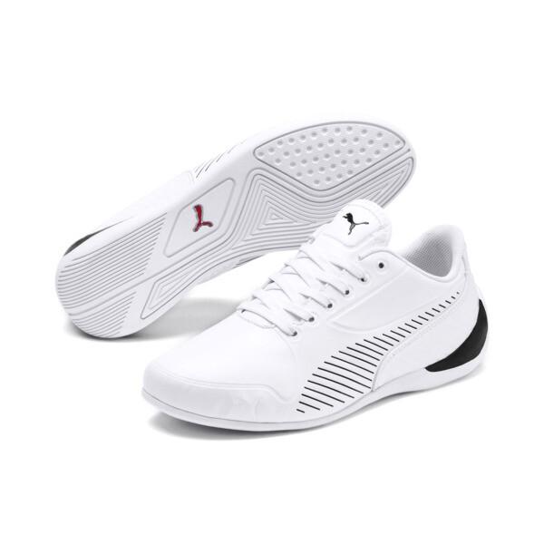 Scuderia Ferrari Drift Cat 7S Ultra Shoes JR, Puma White-Puma Black, large
