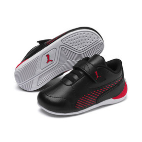 Thumbnail 2 of Ferrari Drift Cat 7S Ultra Kids' Trainers, Puma Black-Rosso Corsa, medium