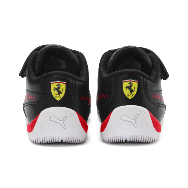 Ferrari Drift Cat 7S Ultra Babies' Trainers, Puma Black-Rosso Corsa, large