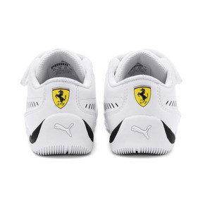 Thumbnail 3 of Ferrari Drift Cat 7S Ultra Babies' Trainers, Puma White-Puma Black, medium