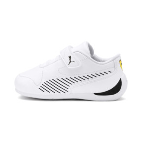 Thumbnail 1 of Ferrari Drift Cat 7S Ultra Babies' Trainers, Puma White-Puma Black, medium
