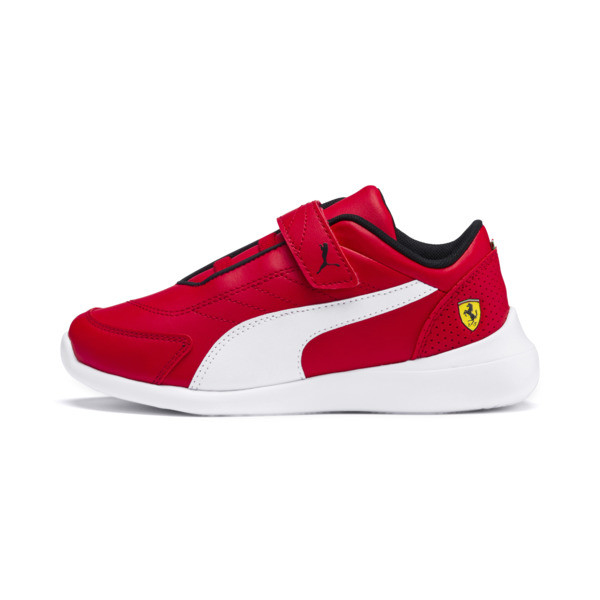 Zapatillas de niño Kart Cat III Ferrari, Rosso Corsa-Puma White, grande
