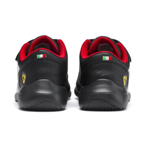 Zapatillas de niño Kart Cat III Ferrari, Puma Black-Puma White, grande