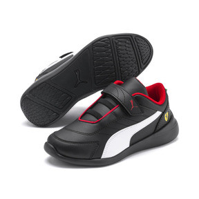 Imagen en miniatura 2 de Zapatillas de niño Kart Cat III Ferrari, Puma Black-Puma White, mediana