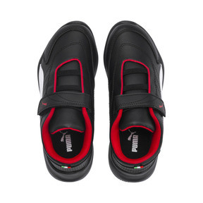 Imagen en miniatura 6 de Zapatillas de niño Kart Cat III Ferrari, Puma Black-Puma White, mediana