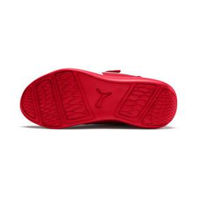 Miniatura 3 de ZapatosScuderiaFerrariKart Cat III para niños pequeños, Rosso Corsa-Wht-Rosso Corsa, mediano
