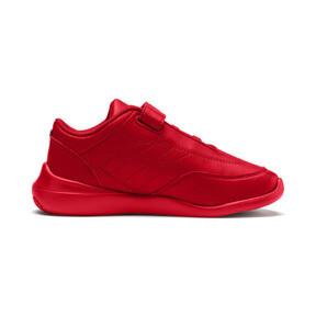 Miniatura 5 de ZapatosScuderiaFerrariKart Cat III para niños pequeños, Rosso Corsa-Wht-Rosso Corsa, mediano