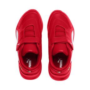 Miniatura 6 de ZapatosScuderiaFerrariKart Cat III para niños pequeños, Rosso Corsa-Wht-Rosso Corsa, mediano