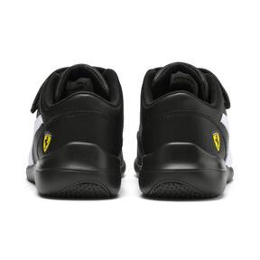 Thumbnail 5 of Scuderia Ferrari Kart Cat III Little Kids' Shoes, Black-White-Blazing Yellow, medium