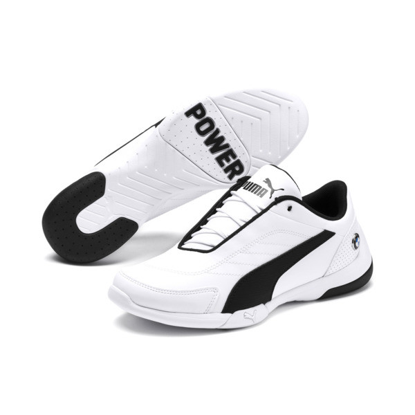 BMW M Motorsport Kart Cat III JR, Puma White-Puma Black, large