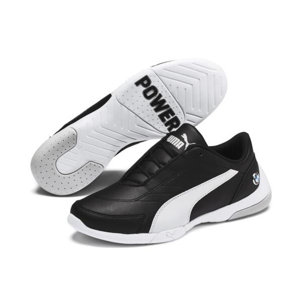 Zapatos deportivos BMW MMS Kart Cat III para JR, Puma Black-Gray Violet, grande