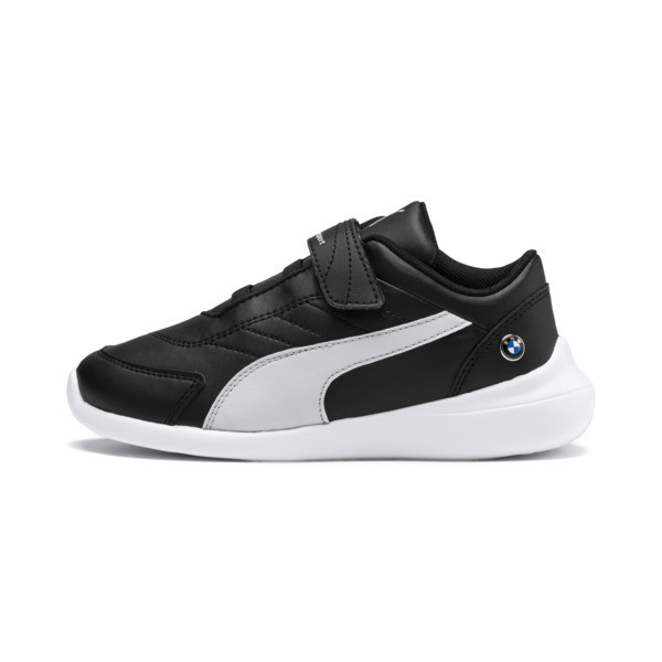 BMW MMS Kart Cat III V Little Kids', Puma Black-Gray Violet, large