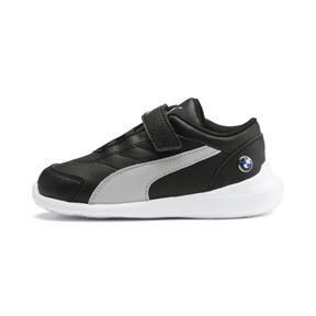 Thumbnail 1 of BMW M Motorsport Kart Cat III Toddler Shoes, Puma Black-Gray Violet, medium