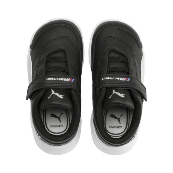 BMW M Motorsport Kart Cat III Toddler Shoes, Puma Black-Gray Violet, large