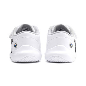 Thumbnail 3 of BMW M Motorsport Kart Cat III Toddler Shoes, Puma White-Smoked Pearl, medium