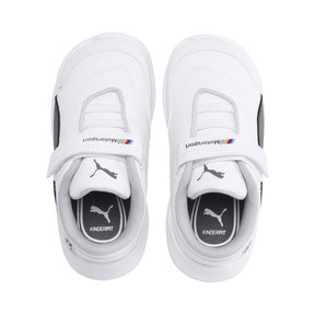 Thumbnail 6 of BMW M Motorsport Kart Cat III Toddler Shoes, Puma White-Smoked Pearl, medium
