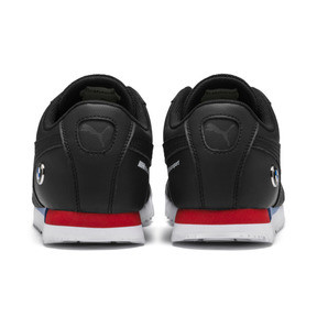 Thumbnail 4 of BMW M Motorsport Roma Sneakers JR, Puma Black-Puma Black, medium