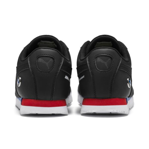 BMW M Motorsport Roma Sneakers JR, Puma Black-Puma Black, large