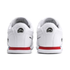 Thumbnail 3 of BMW M Motorsport Roma Little Kids' Shoes, Puma White-Puma White, medium