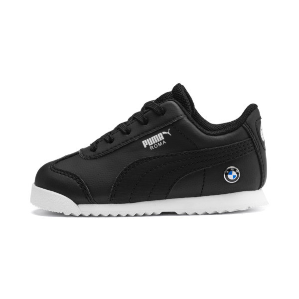Zapatos BMW M Motorsport Roma para bebé, Puma Black-Puma Black, grande