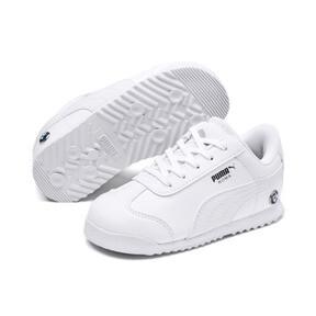 Thumbnail 2 of BMW M Motorsport Roma Toddler Shoes, Puma White-Puma White, medium