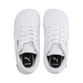Thumbnail 6 of BMW M Motorsport Roma Toddler Shoes, Puma White-Puma White, medium
