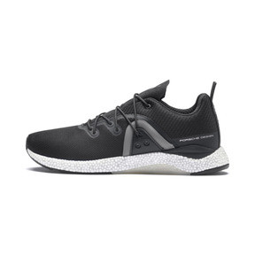 Anteprima 1 di Porsche Design Hybrid Runner Men's Trainers, Jet Black-Smoked Pearl, medio