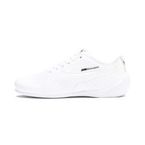 Thumbnail 1 of BMW M Motorsport Drift Cat 7S Ultra Youth Sneaker, Puma White-Puma White, medium