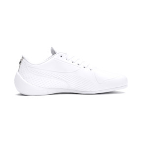 Thumbnail 5 of BMW M Motorsport Drift Cat 7S Ultra Youth Trainers, Puma White-Puma White, medium