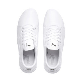 Thumbnail 6 of BMW M Motorsport Drift Cat 7S Ultra Youth Trainers, Puma White-Puma White, medium