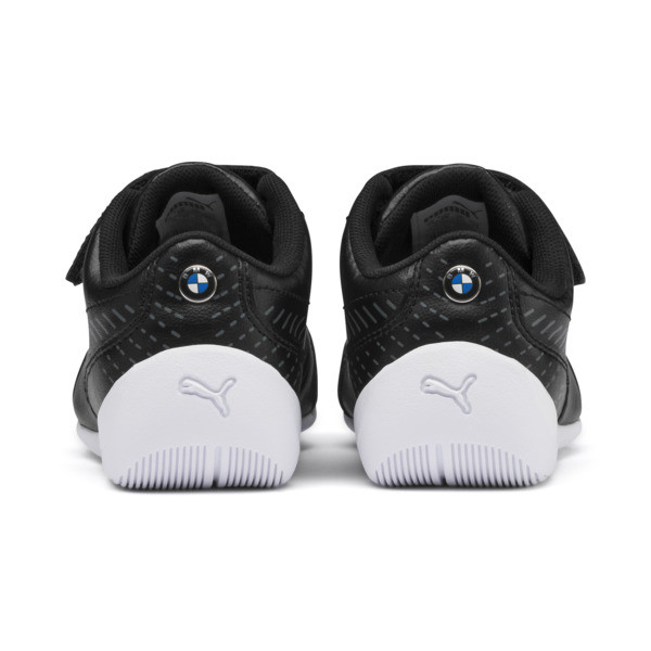 BMW MMS Drift Cat 7S Ultra Little Kids' Shoes, Puma Black-Puma Black, large