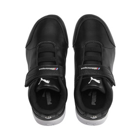 Thumbnail 6 of BMW M Motorsport Drift Cat 7S Ultra Kids' Trainers, Puma Black-Puma Black, medium