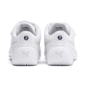 Thumbnail 3 of BMW M Motorsport Drift Cat 7S Ultra Kids' Trainers, Puma White-Puma White, medium