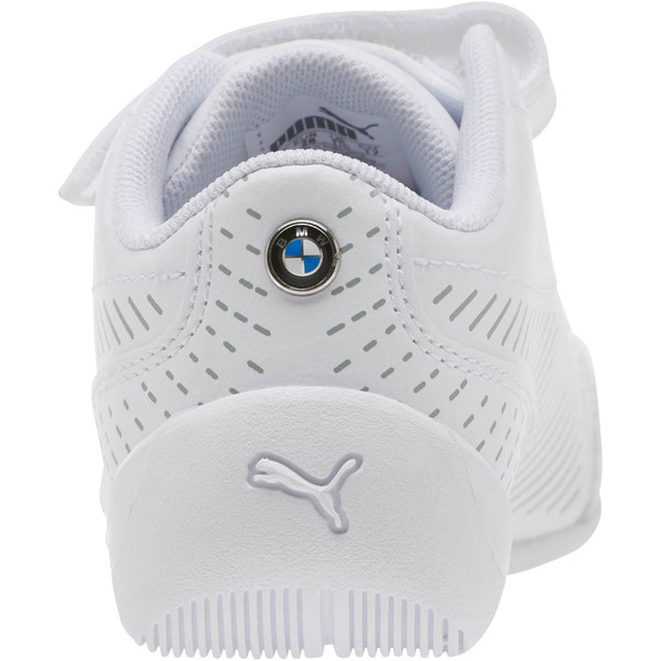 BMW M Motorsport Drift Cat 7S Ultra Shoes PS, Puma White-Puma White, large