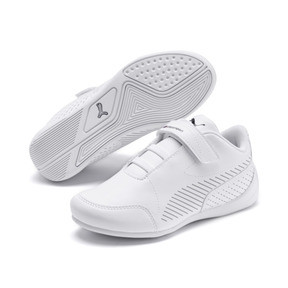 Thumbnail 2 of BMW M Motorsport Drift Cat 7S Ultra Kids' Trainers, Puma White-Puma White, medium