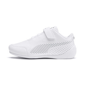 Thumbnail 1 of BMW M Motorsport Drift Cat 7S Ultra Kids' Trainers, Puma White-Puma White, medium