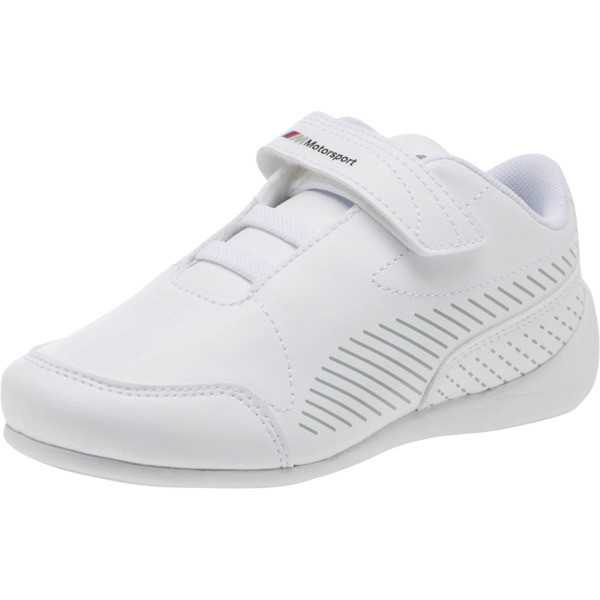 BMW MMS Drift Cat 7S Ultra Shoes PS, Puma White-Puma White, large