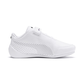 Thumbnail 5 of BMW M Motorsport Drift Cat 7S Ultra Kids' Trainers, Puma White-Puma White, medium