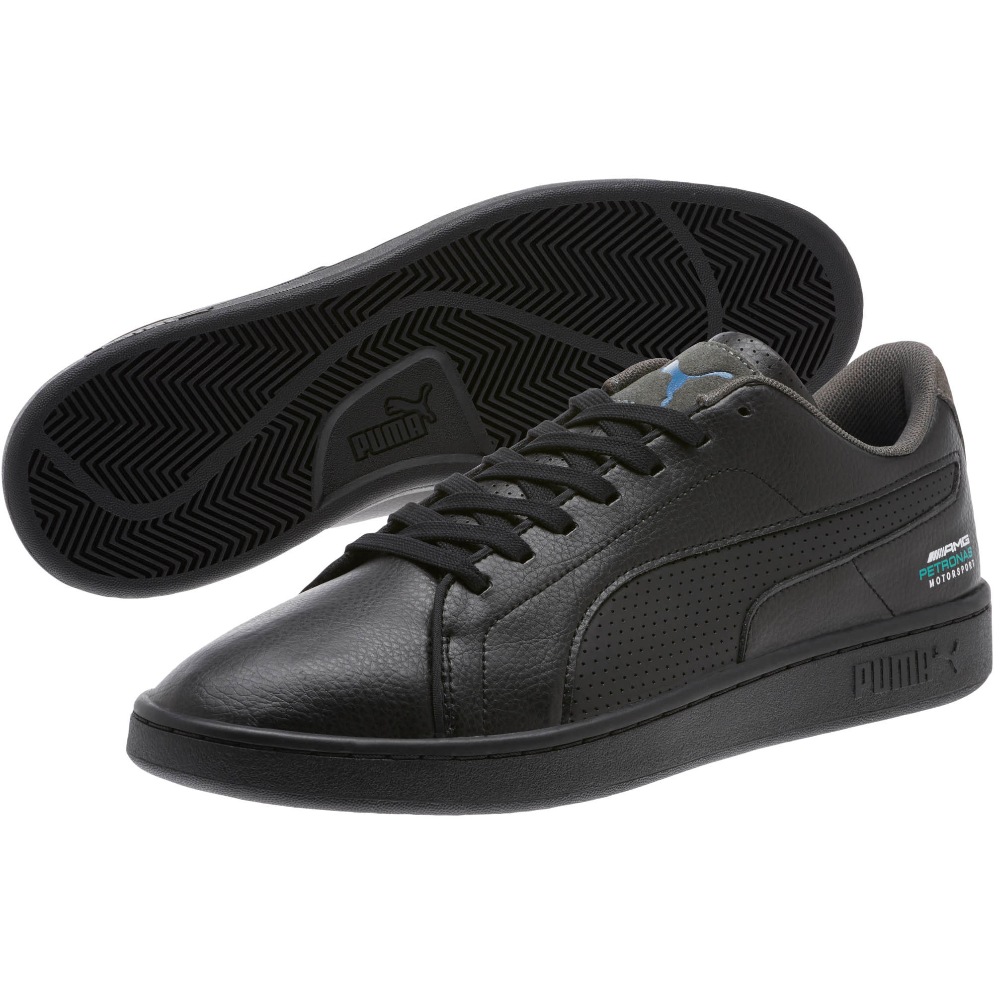 Details about PUMA Mercedes AMG Petronas Smash v2 Men's Sneakers Men Shoe Auto