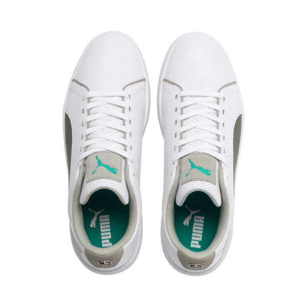 Mercedes AMG Petronas Smash v2 Sneakers, White-Smoked Prl-Spectra Grn, large