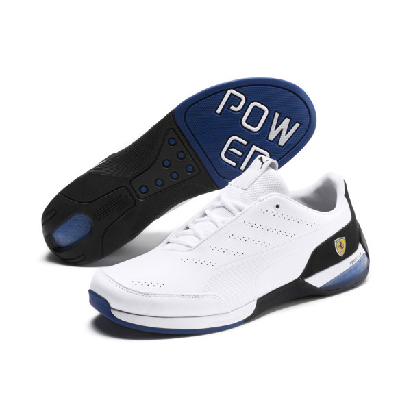 Scuderia Ferrari Kart Cat X Training Shoes, Puma White-Puma Black, large