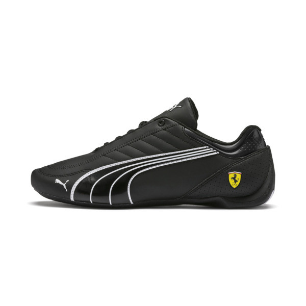 Zapatillas Ferrari Future Kart Cat, Black-Puma White-Rosso Corsa, grande