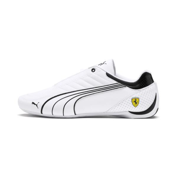 Scuderia Ferrari Future Kart Cat Shoes, White-Black-Galaxy Blue, large